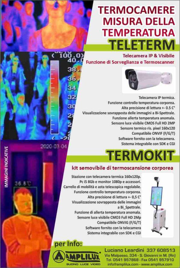 Telecamera e termoscansione